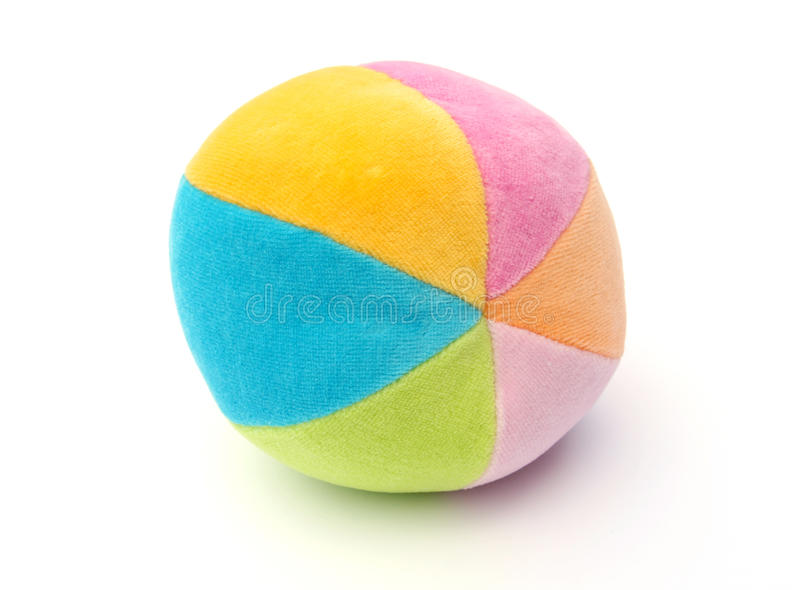Baby's soft ball stock photography