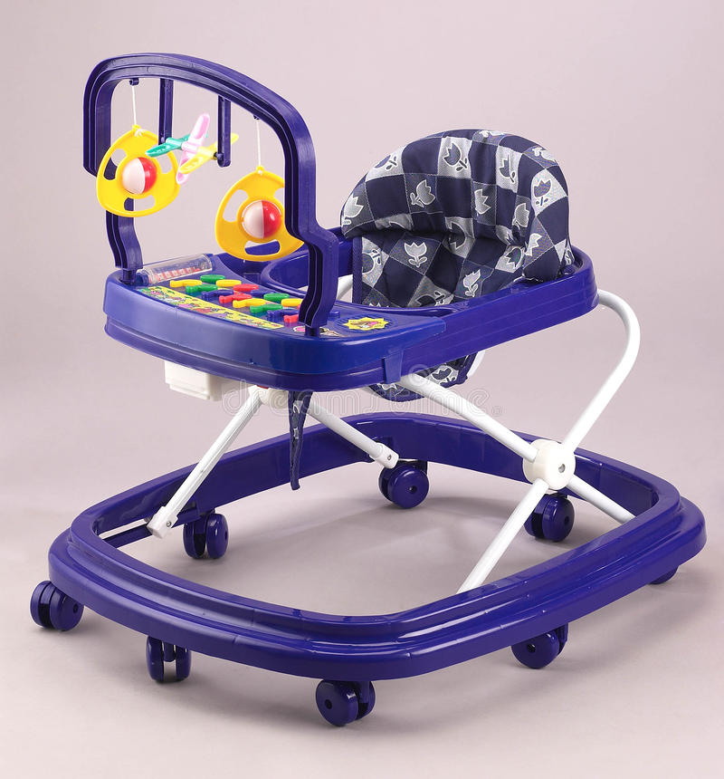 Baby's walker royalty free stock photo