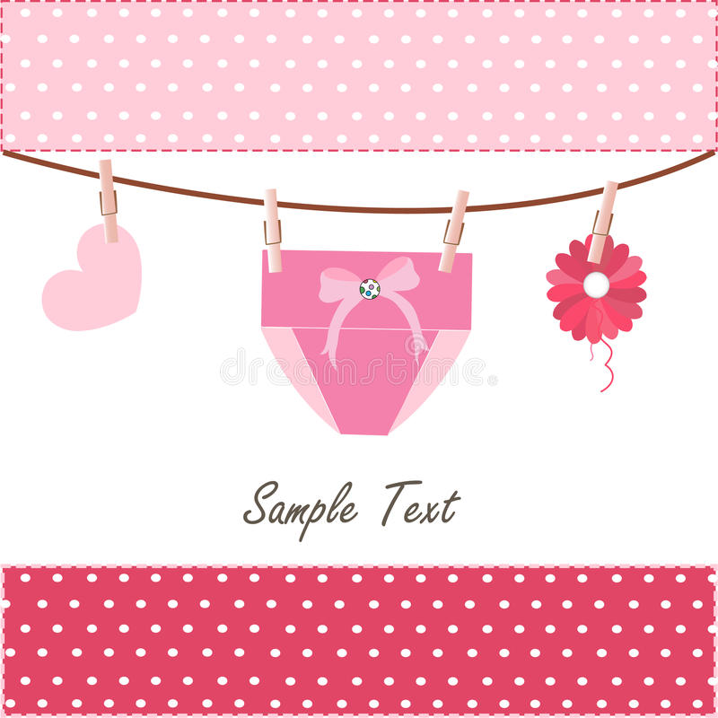 Baby safety pin with colorfull strewberry. Vector stock illustration