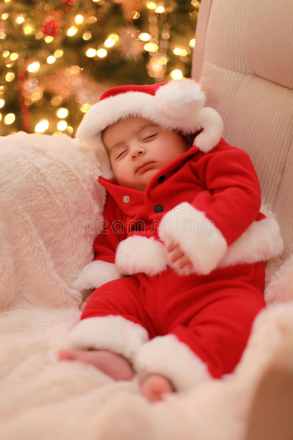 Download Baby santa stock photo. Image of kids, christmas, children - 12068956
