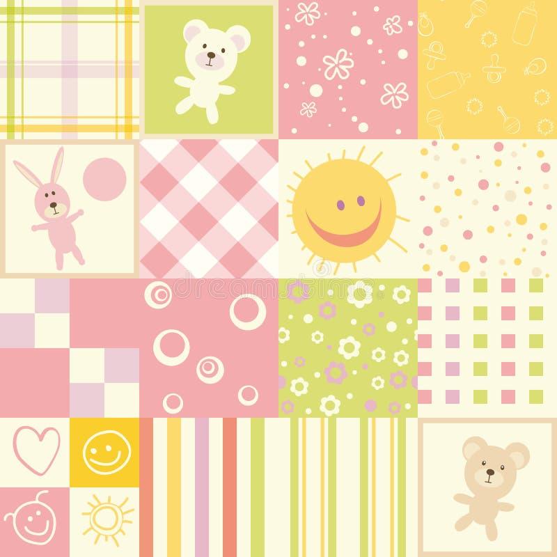 Baby Seamless Stock Photos