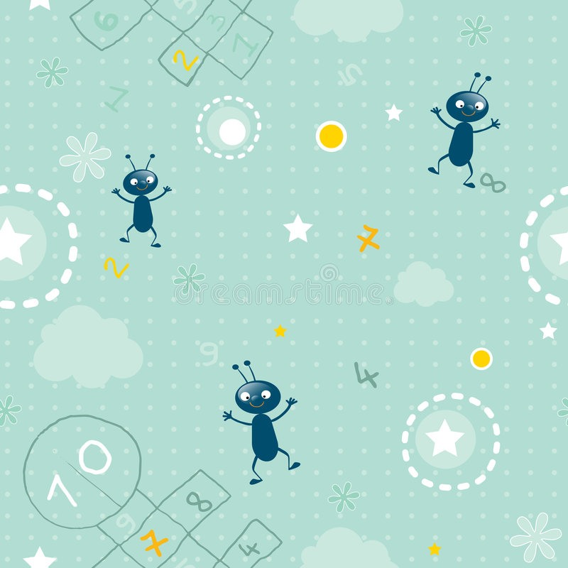 Download Baby seamless pattern stock vector. Illustration of decorative - 4841022