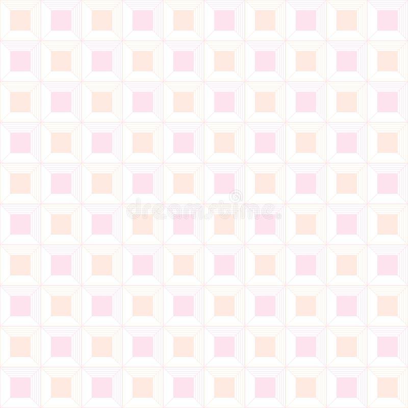 Baby seamless pattern, kids pastel geometric retro ornament wall. Baby seamless pattern, kids pastel geometric retro ornament textures, abstract vector stock illustration