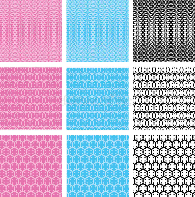 Baby seamless pattern stock illustration
