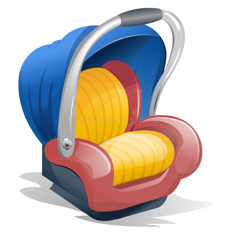 Download Baby Seat Carrier stock illustration. Illustration of carrier - 15812314