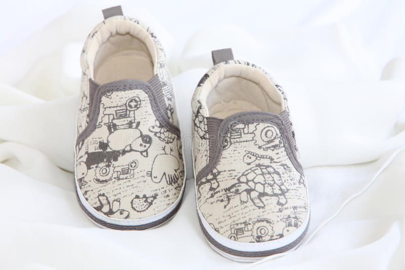 Download Baby Shoes stock photo. Image of lace, kids, feet, isolated - 14171664