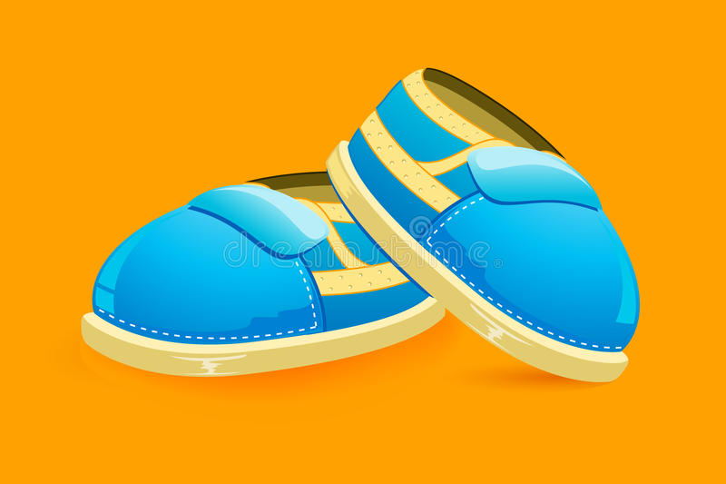 Baby Shoes stock illustration