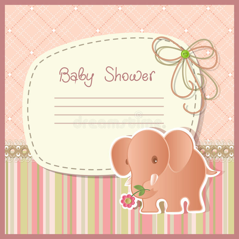 Free Baby Shower Royalty Free Stock Images - 24608179