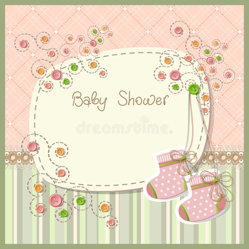 Free Baby Shower Royalty Free Stock Photography - 24608227