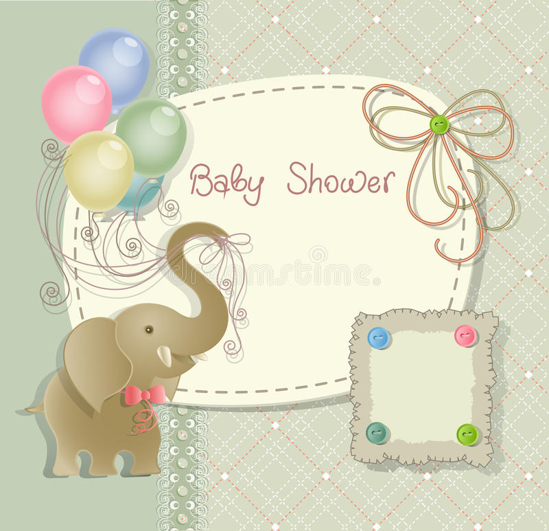 Free Baby Shower Royalty Free Stock Photos - 24608248