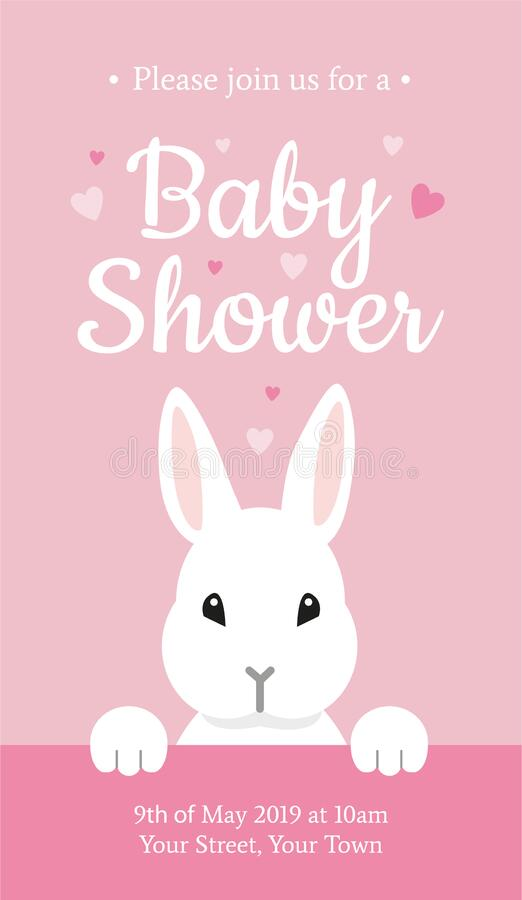 Little Bunnies Baby Card