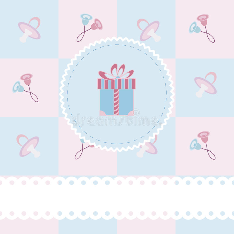 Free Baby Shower Card Stock Images - 22263324