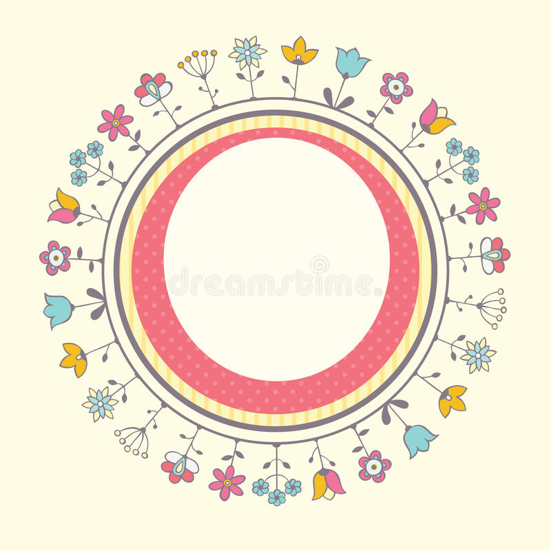 Baby Shower Card Template Stock Images - Image: 38713764