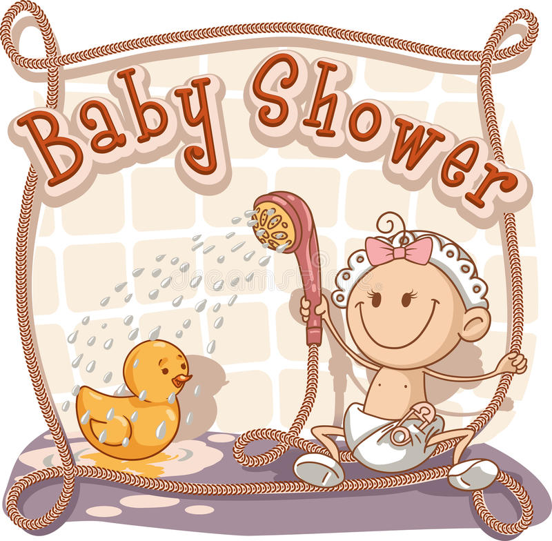 Baby shower cartoon invitation stock vector illustration of download baby shower cartoon invitation stock vector illustration of child announcement 32436755 stopboris Choice Image