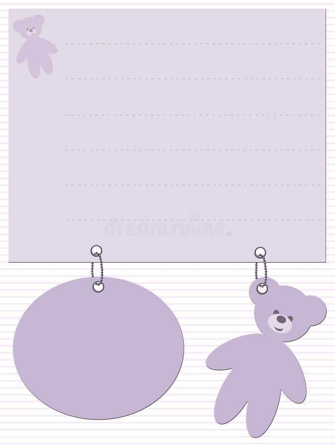 Free Baby Shower Invitation Card Royalty Free Stock Photo - 21267885