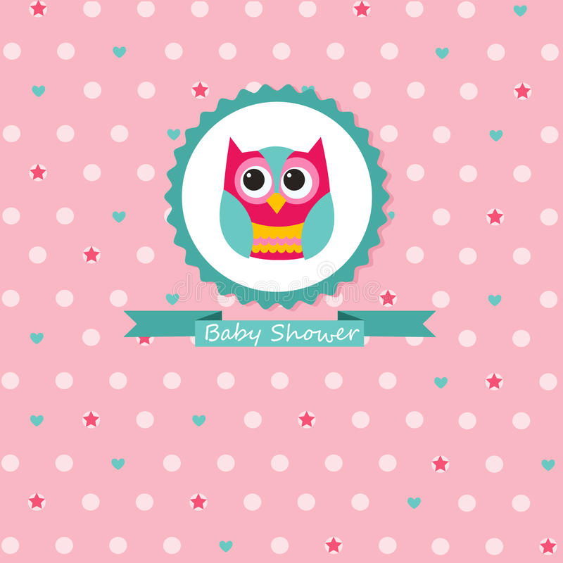 Download Baby Shower Invitation stock vector. Image of baby, photo - 34279537