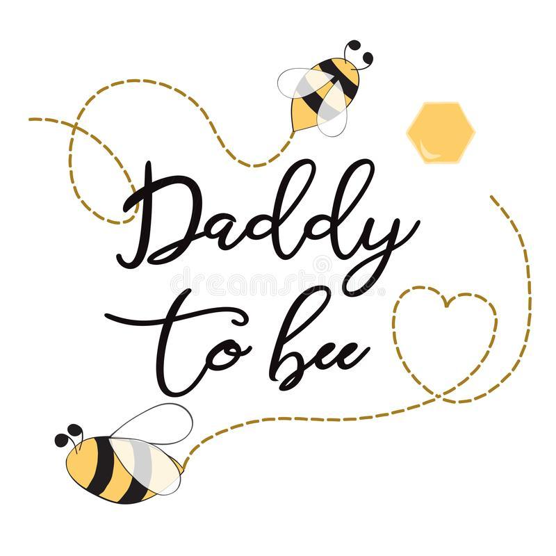 Baby shower invitation template with text daddy to bee cute card download baby shower invitation template with text daddy to bee cute card design for mothers day filmwisefo Images
