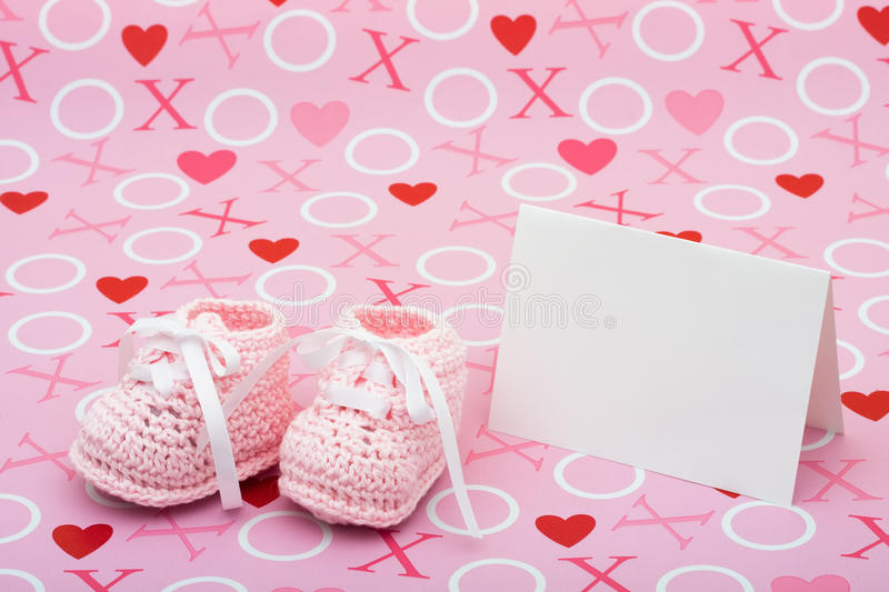 Baby Shower Message Royalty Free Stock Image - Image: 10751576