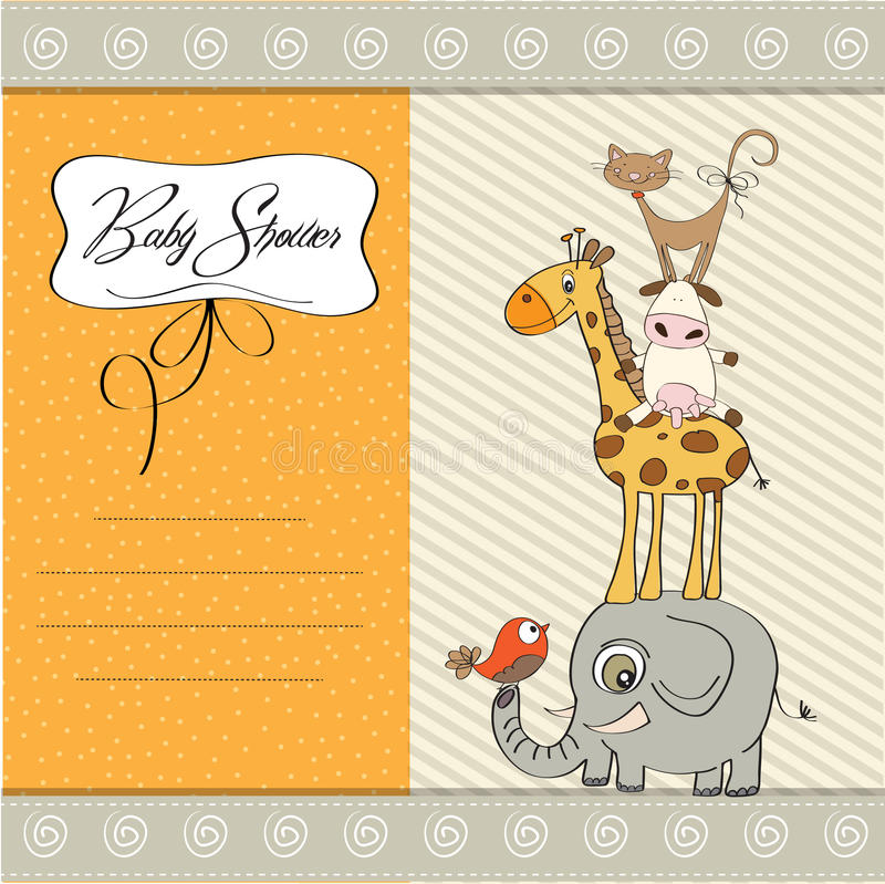 Download Baby Shower Template Card Stock Images - Image: 23964334