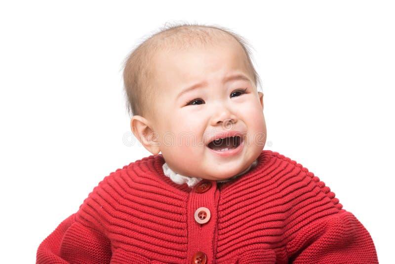Baby-sitter que alimenta o bebê fotos de stock