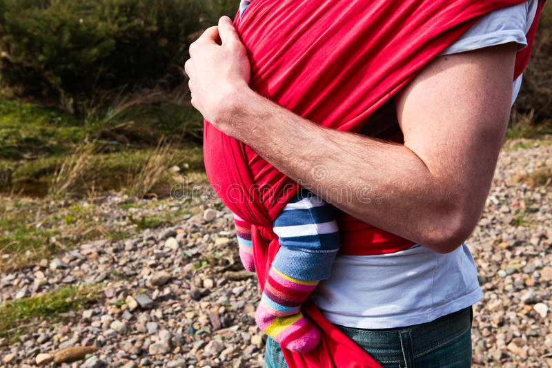 Download Baby sling stock photo. Image of carrier, muscle, bonding - 31833098