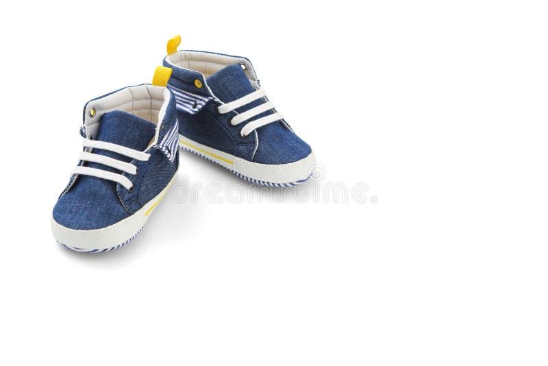 Baby sneakers stock foto's
