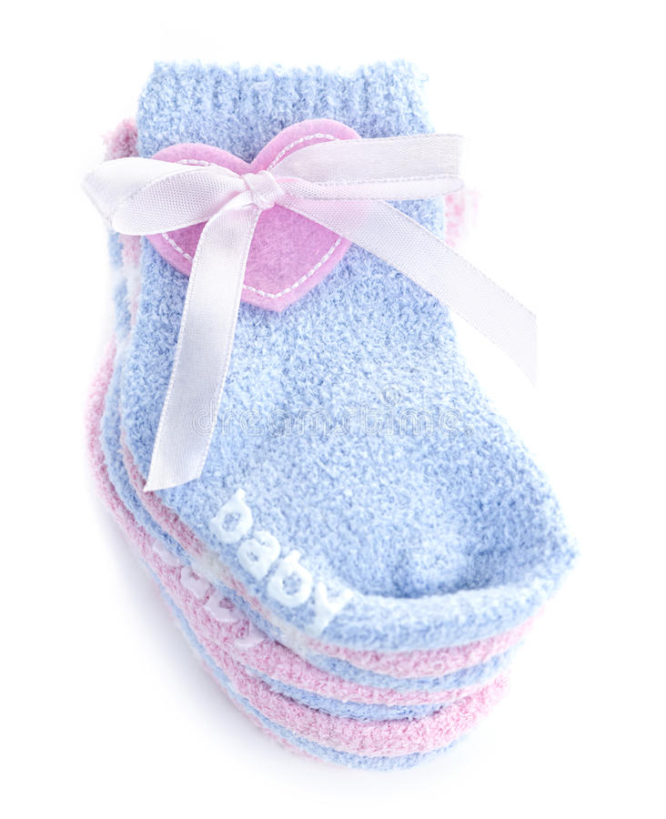 Download Baby socks gift stock photo. Image of clothes, newborn - 19863880