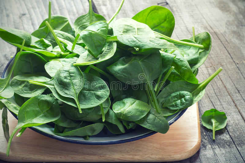 Download Baby Spinach stock image. Image of detox, cooking, leaves - 52384851