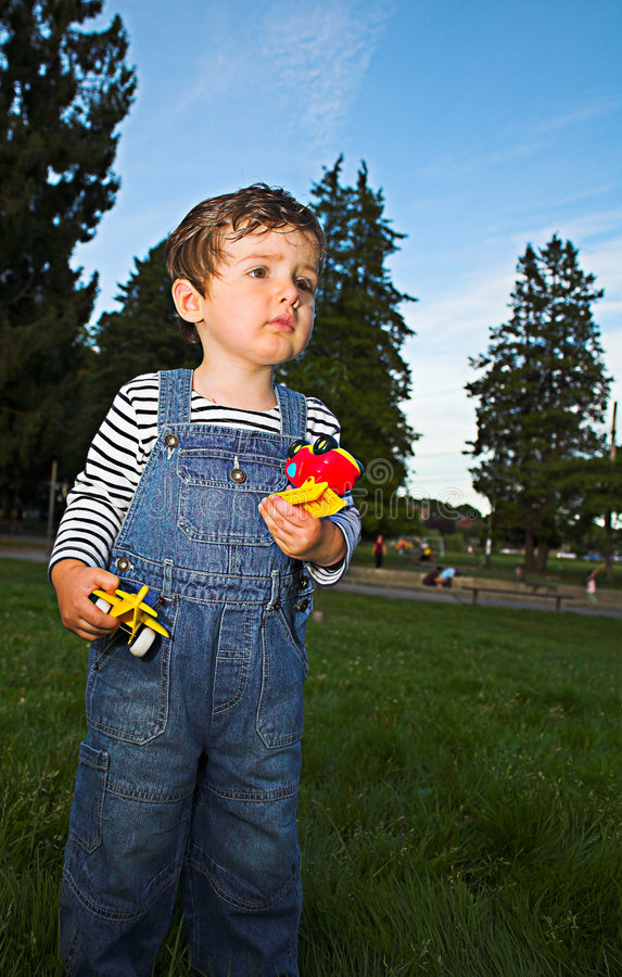 Baby standing royalty free stock photography