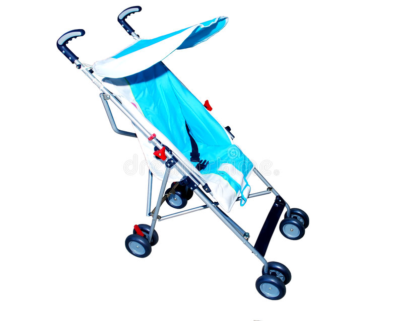 Baby stroller stock photos