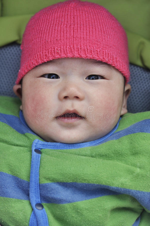 Download Baby in stroller stock photo. Image of baby, chinese - 37895220