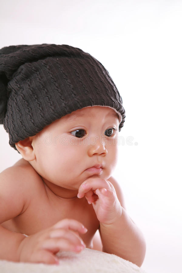 Download Baby surprise look stock photo. Image of pose, little - 22715506