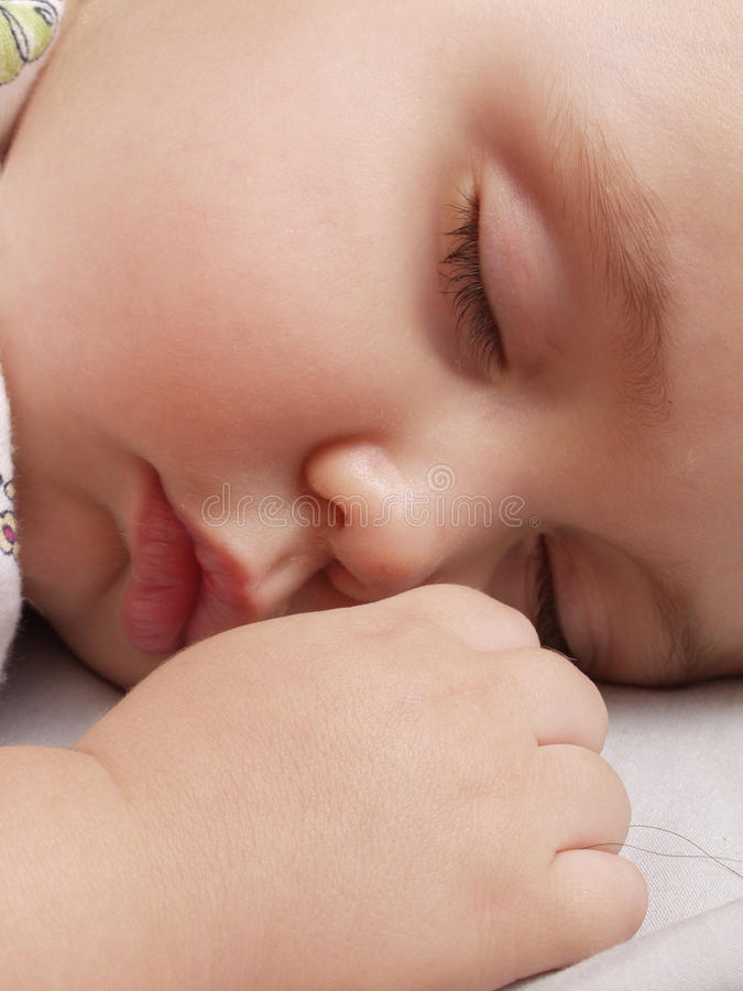 Download Baby sweet sleep. stock photo. Image of cute, lying, newborn - 17348778