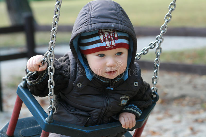 Download Baby On A Swing Royalty Free Stock Image - Image: 13051496