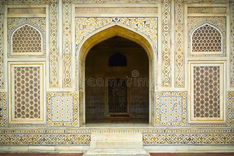 Baby Taj-Eingang stockfoto
