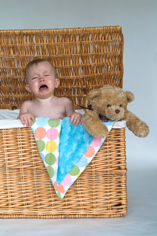 Download Baby And Teddy Royalty Free Stock Photography - Image: 2450077