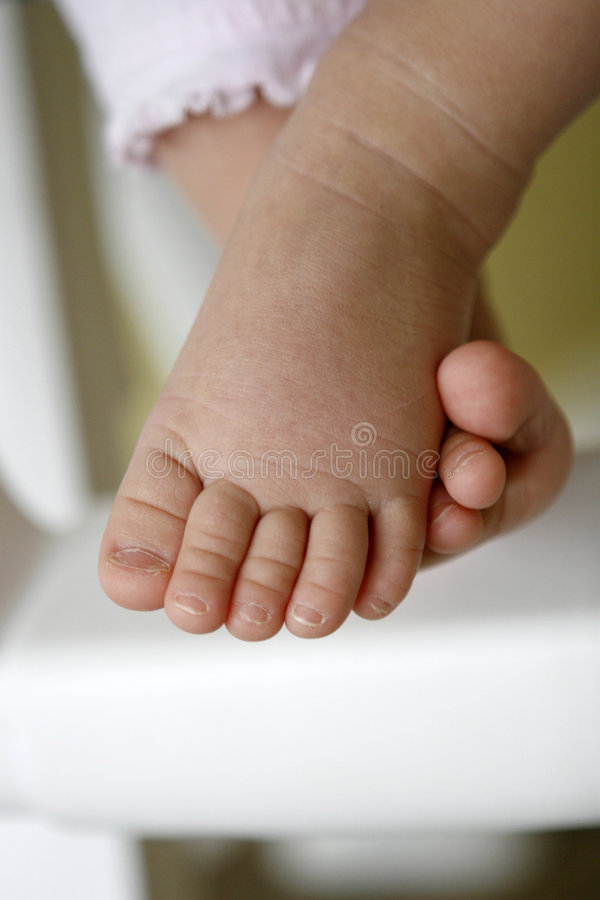 Free Baby Toes Royalty Free Stock Image - 7708306