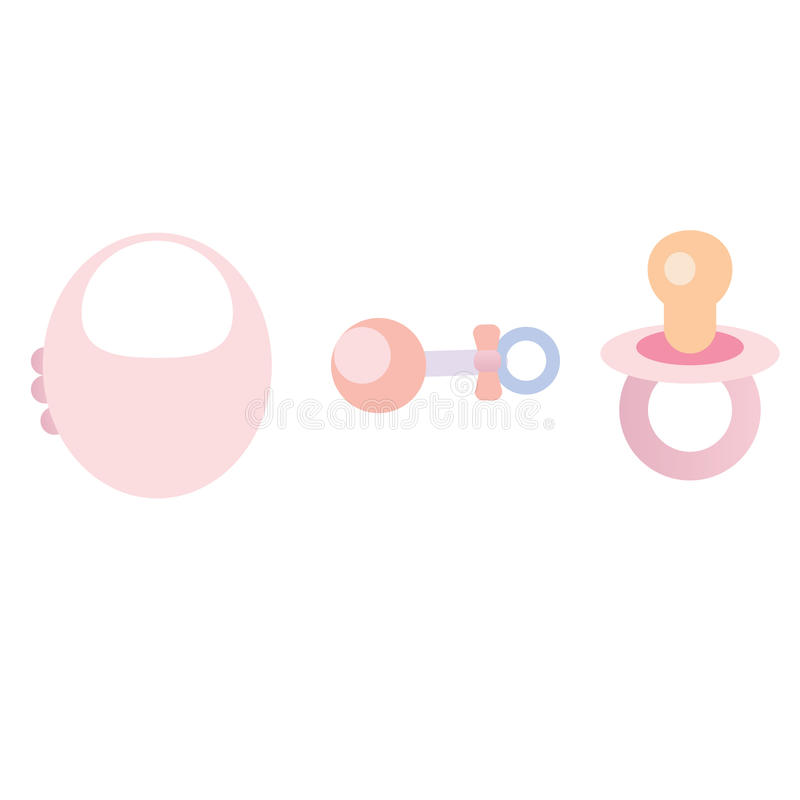 Download Baby toys stock vector. Image of newborn, clothing, cute - 14497983