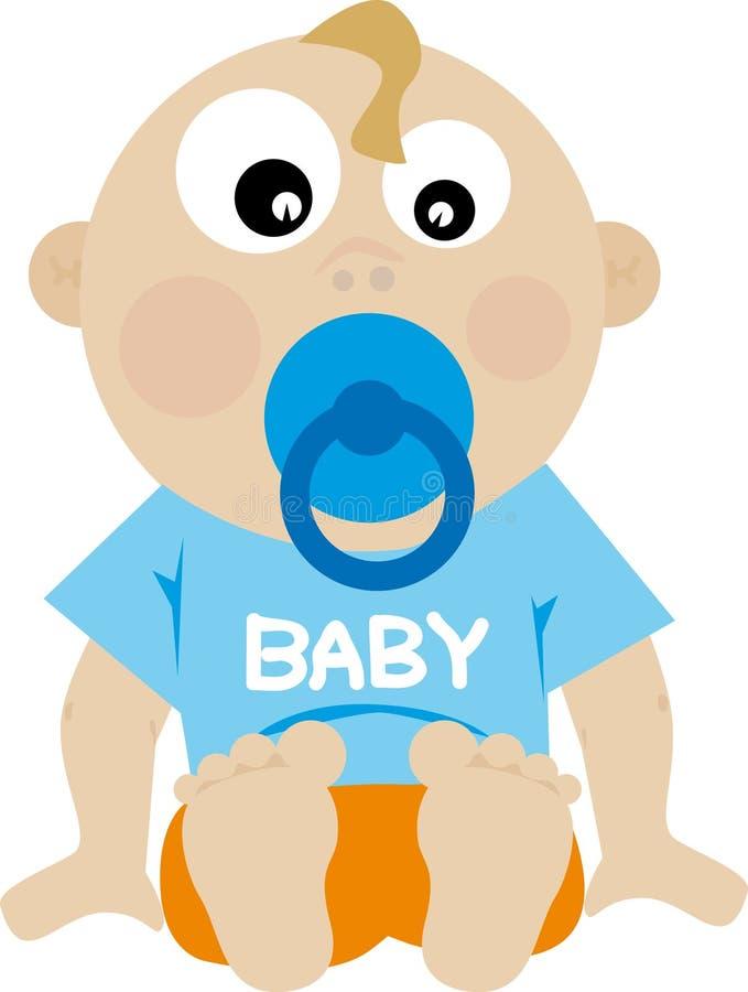 Baby (vector) Stock Image
