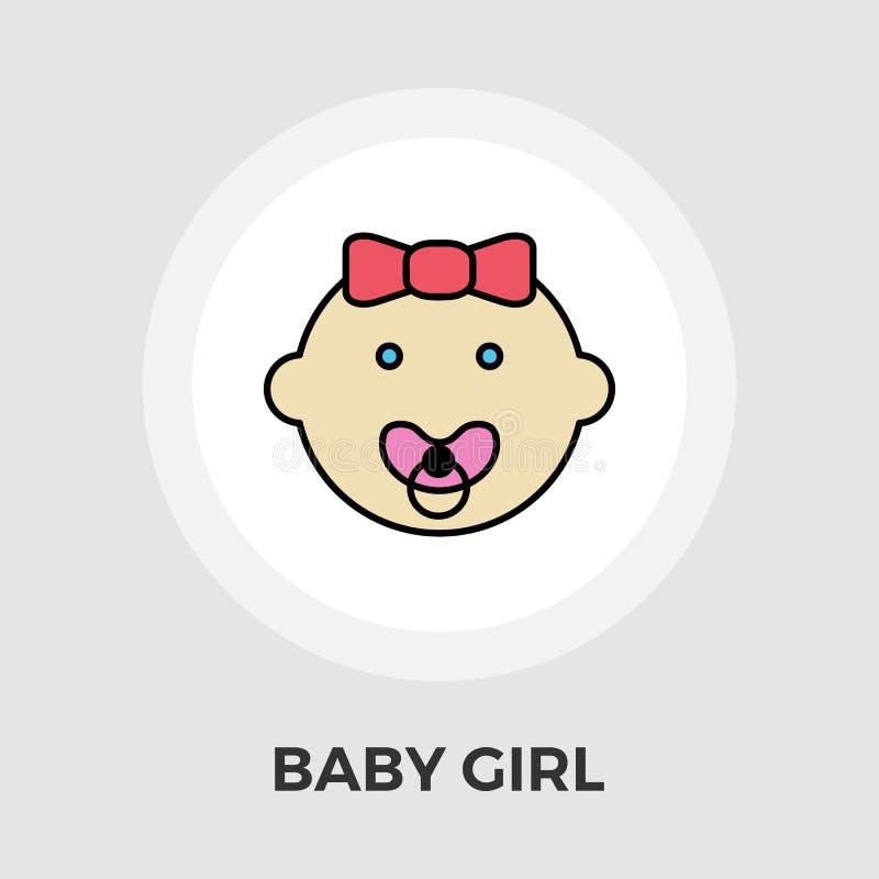 Download Baby-Vektor-flache Ikone vektor abbildung. Illustration von graphik - 90225771