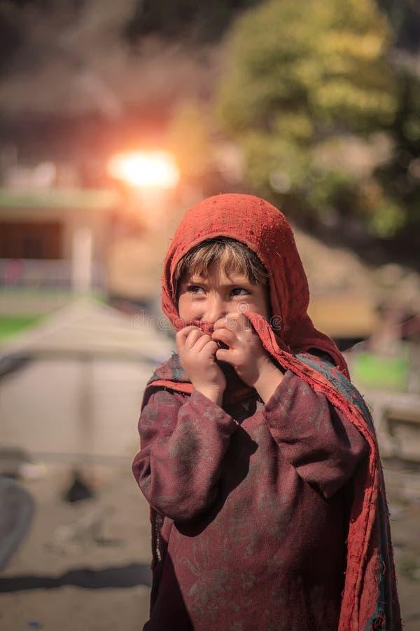 Baby von Naran Pakistan - kinder- Lächeln 2017 - Schönheit stockfotografie