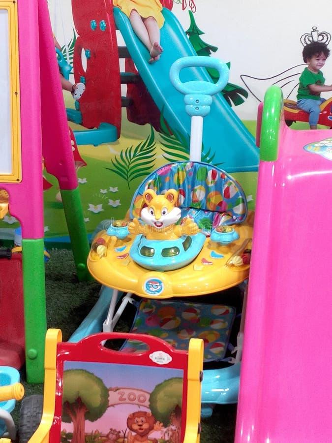 Baby waker royalty-vrije stock fotografie