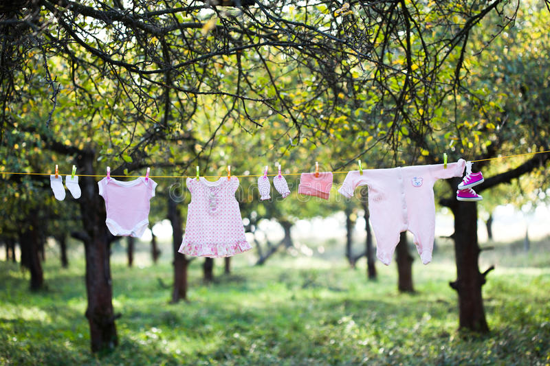 Download Baby wear stock image. Image of garden, clothing, outdoor - 23754951