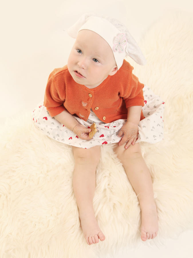 Download Baby On White Royalty Free Stock Photos - Image: 25124588