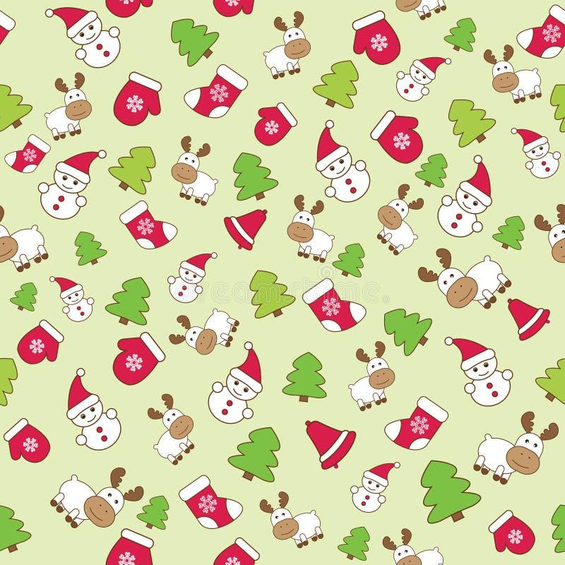 Free Baby Winter Seamless Stock Image - 21728141