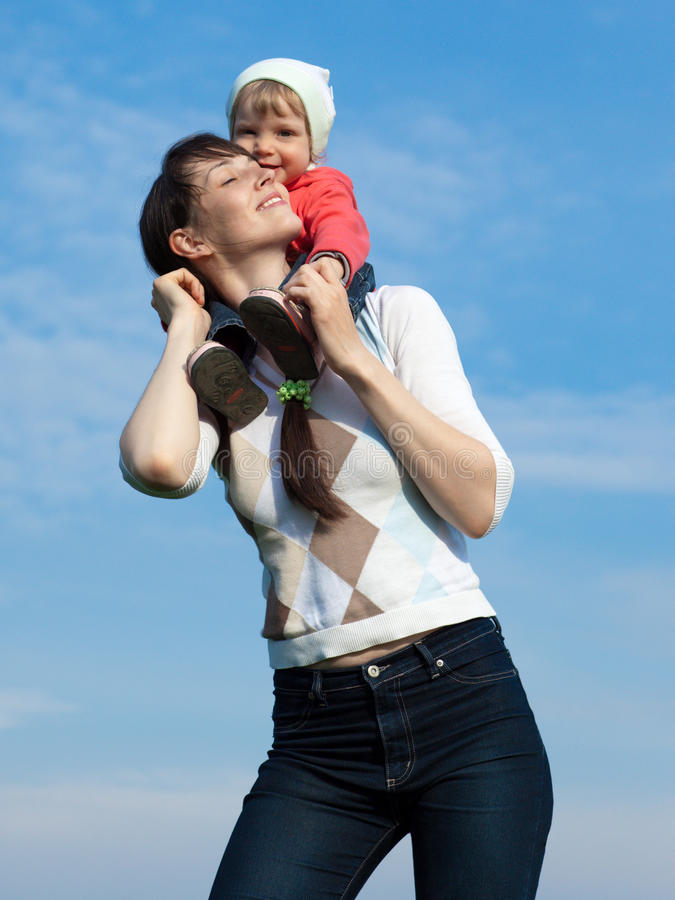 Free Baby With Mom Royalty Free Stock Photos - 10271238