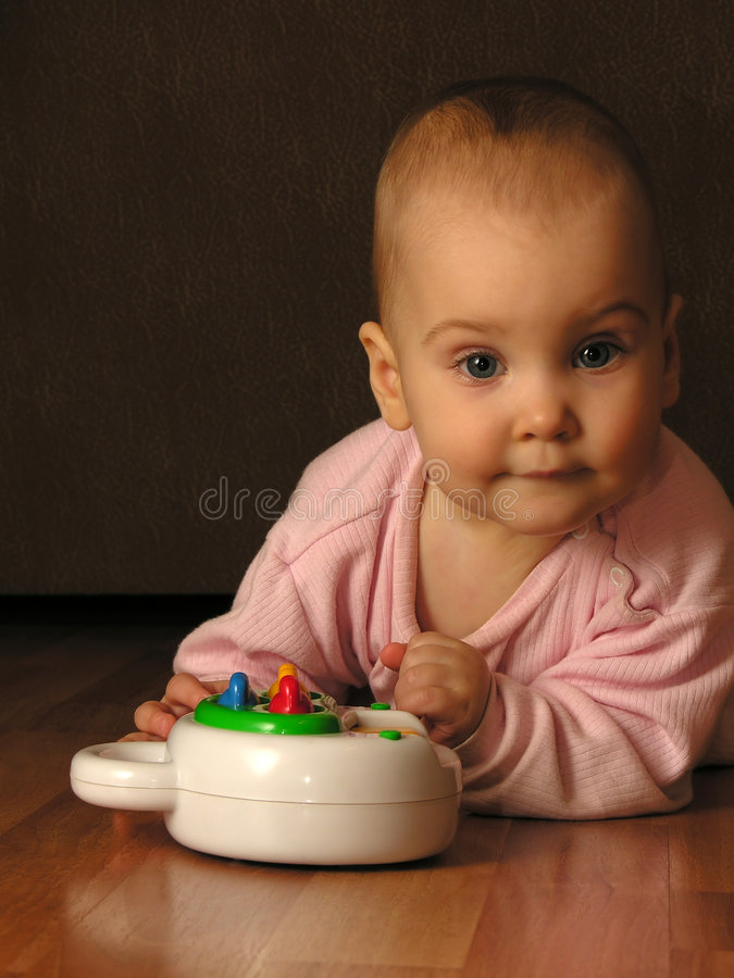 Free Baby With Toy Stock Photos - 351963