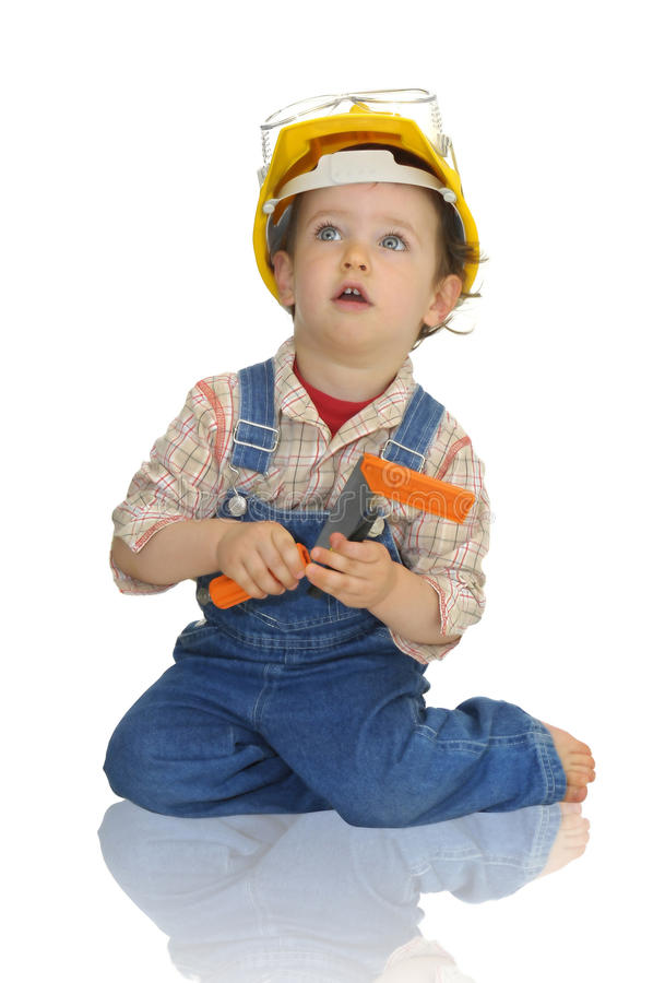 Free Baby Worker Royalty Free Stock Photo - 10081405