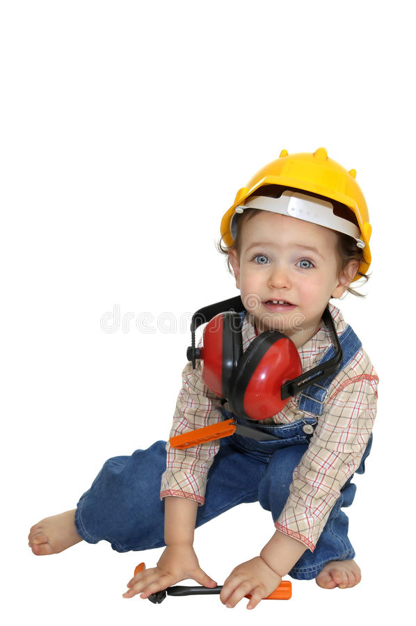 Free Baby Worker Stock Photography - 11369212