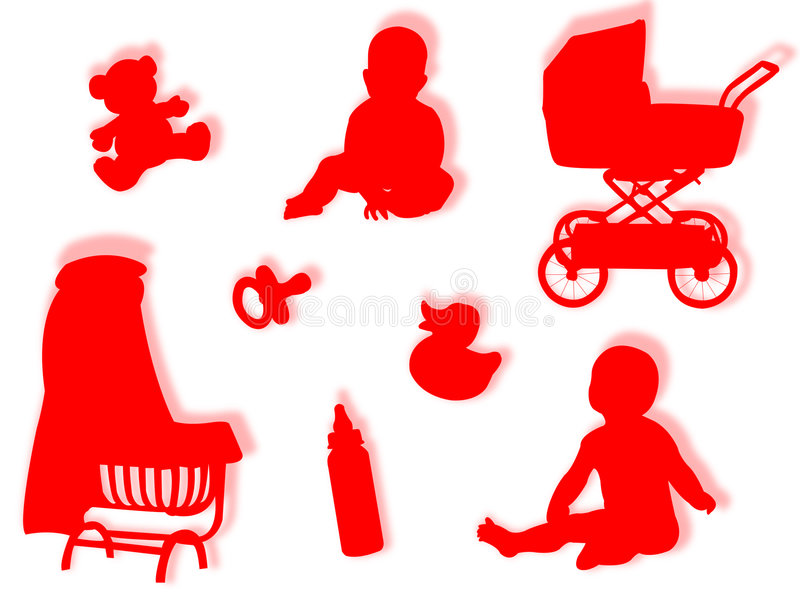 Download Baby world stock illustration. Image of poses, baby, game - 7547260